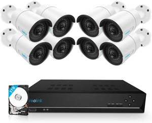 #5. Reolink 16CH PoE Home Security Camera 5MP System