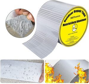 #6. Super Waterproof Aluminum Butyl Tape, Outdoor Leak Repair