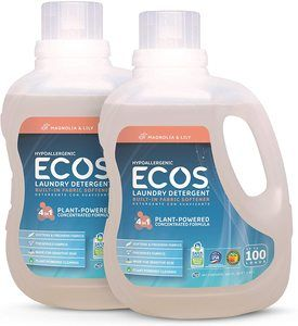 #8 Earth Friendly Products 2X Liquid Laundry Detergent