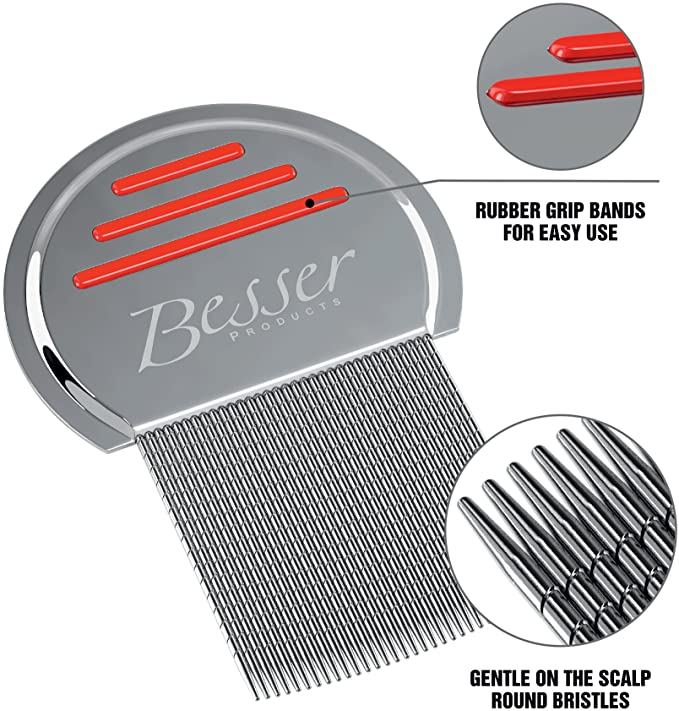 #9 Stainless Steel Head Lice Comb