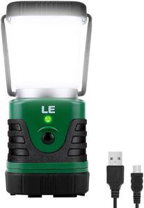#1. Lighting Ever LED Rechargeable Lantern