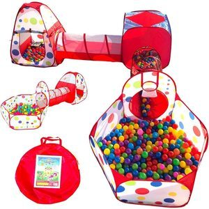 #1. Playz Store 5-Pc Ball Pits for Kids
