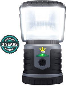 #10. KYNG LED Rechargeable Lantern for Camping