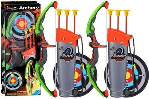 #3. POKONBOY 2 Sets of Nerf Bows and Arrows