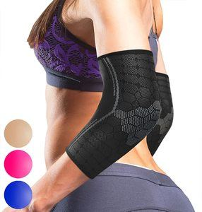 #5. Sparthos Elbow Compression Sleeves (Pair)
