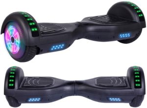 #10. Felimoda UL Approved Hoverboards with LED