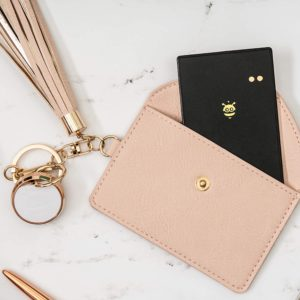 #10. Pebblebee BlackCard Water-resistant Wallet Finder