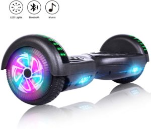 #4. Felimoda Coated Hoverboard (A-Black)