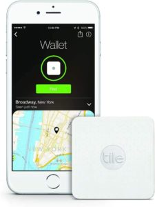 #4. Tile Slim Tracker Wallet Finder