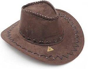 #9 IDS Home Dark Brown Cowboy Cowgirl Hat