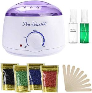 10 Wax Warmer, Portable Electric Hair Removal Kit