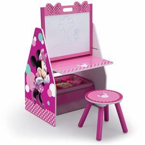 #1 Delta Children Kids Easel and Play Station Drawing