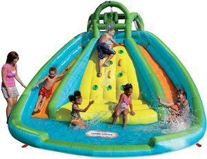 #1. Little Tikes Inflatable Slide Bouncer