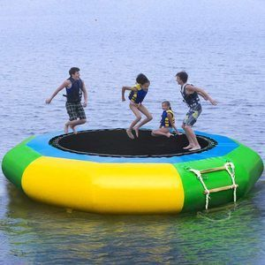 #2 TIANMI 10Feet Inflatable Water Trampoline