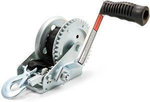 #2. Camco Heavy Duty Steel Marine Towing Winch