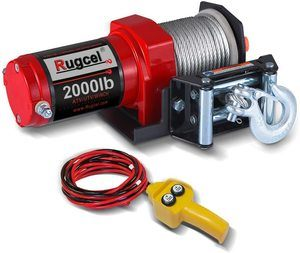 #3. RUGCEL Electric Single Line Winch