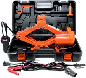 #3. VViViD Electric Automotive 3-Ton Scissor Tire Jack Kit