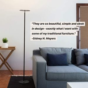 #4 Brightech Sky LED Super Bright Floor Lamp
