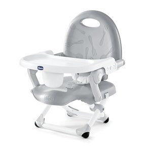 #5 Chicco Pocket Snack Booster Seat, Grey