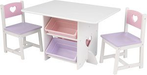 #5 Kidkraft Heart Table and Chair Set
