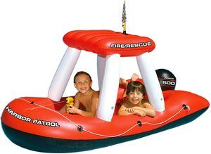 #10 Swimline Fireboat Squirter Pool Toy