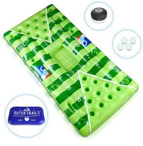 #5. Outer Trails Inflatable Table Beer Pong Pool Float