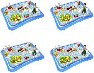 #9. 4-Pack Inflatable Coolers for Parties