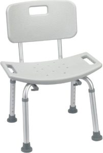 #1 Drive Medical RTL12202KDR Shower Bench Chair