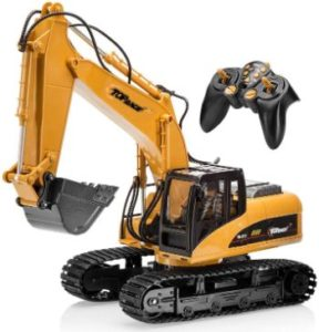#1 Top Race 15 Channel Full Functional Excavator Construction toy