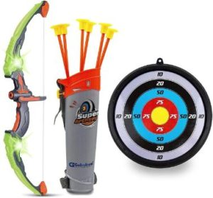 #1. GoBroBy Arrow Bow Arrow Set for 3-13 Years olds
