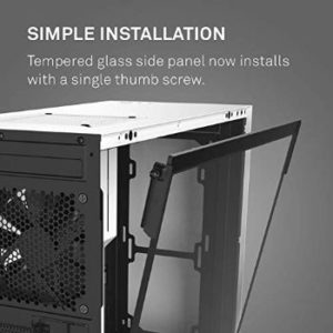 #1. NZXT H510 - Compact termed Glass ATX Mid-Tower PC Case