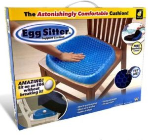 #10. BulbHead Egg Sitter Nonslip Seat Cushion