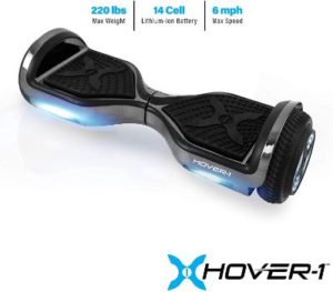 #10. Hover-1 Electric Hoverboard Scooter Chrome