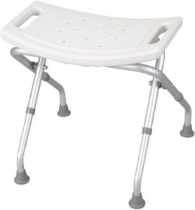 #2 Drive Medical Deluxe Folding Bath Bench, White