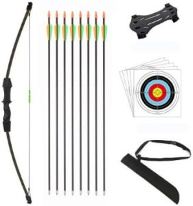 #2. DOSTYLE Outdoor Recurve Arrow Bow