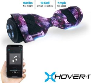 #3. Hover-1 Helix Electric Galaxy Hoverboard Scooter…