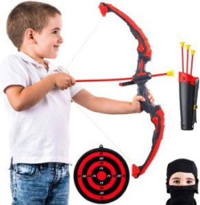 #4. Ninja Arrow and Bow Set for Outdoor, Target Games