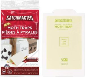 #5. Catchmaster Pantry Moth and Pest Traps