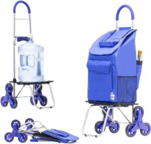 #5. Dbest products Foldable Stair Climber Trolley