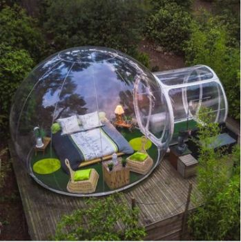 #6. ZXMOTO Inflatable Bubble Outdoor Camping