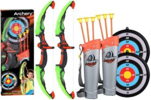 #7. 2 Pack Archery Bow Arrow Set, Suction Cup Arrows