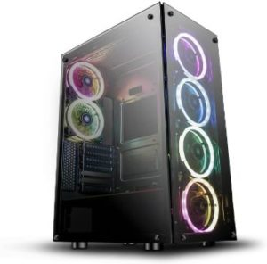 #7. DarkFlash Phantom ATX Mid-Tower Computer Case