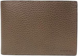 #7. Gucci Men's Brown Leather Wallet-292534 2527
