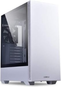 #8. Lian Li Mid-Tower Tempered Glass ATX Computer PC