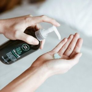 #1. Tea Tree Leave-In Hair and Body Conditioner
