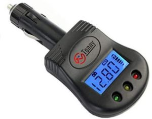 10. 12V Plug in Car Battery and Charging System Tester