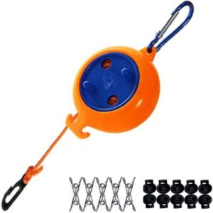 #10. Medolli Portable Retractable Clothesline