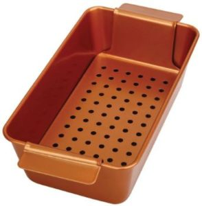 #10. PGM Meatloaf Pan with Removable Tray Drains