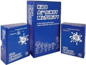 2. Kids Against Maturity Kids and Family Card Game