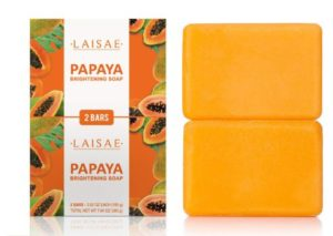 #2. LAISE Papaya Brightening Soap